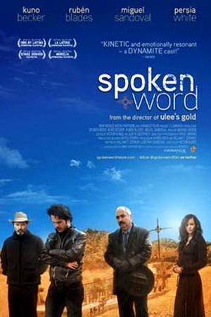 """Poster art for """"Spoken Word."""""""