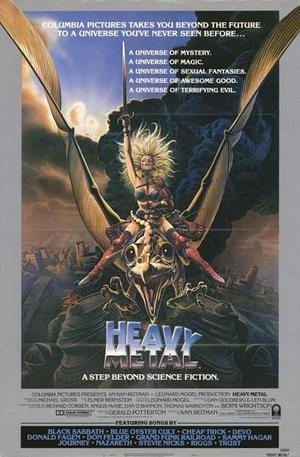 "Poster art for ""Heavy Metal."""