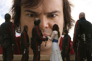 "Jack Black in ""Gulliver's Travels."""
