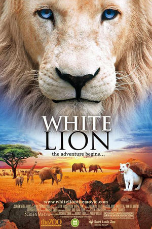 "Poster art for ""White Lion"""