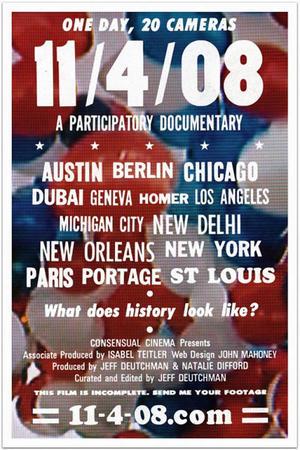 """Poster art for """"11/4/08"""""""