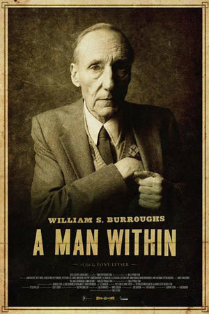 """Poster art for """"William S. Burroughs: A Man Within"""""""