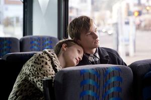 """Mia Wasikowska as Annabel and Henry Hopper as Enoch in """"Restless."""""""