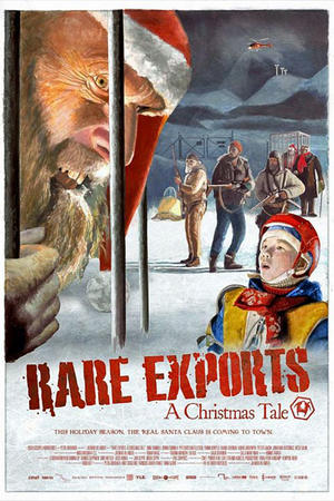 """Poster art for """"Rare Exports: A Christmas Tale"""""""