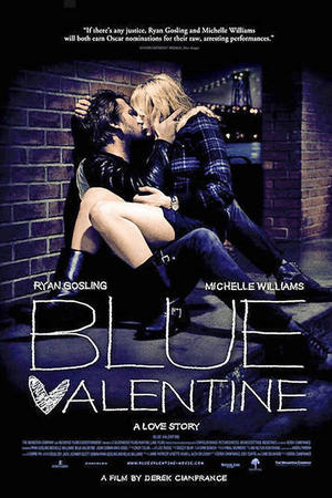 "Poster art for ""Blue Valentine"""