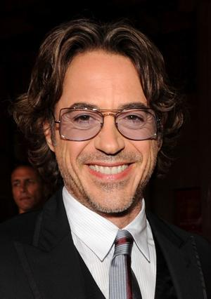 "Robert Downey, Jr. at the California premiere of ""Due Date."""
