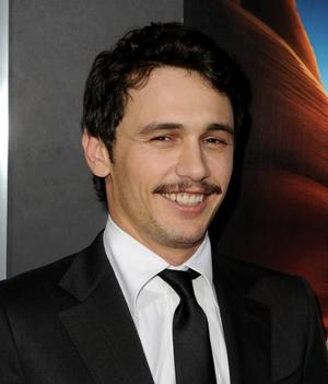 """James Franco at the California premiere of """"127 Hours."""""""