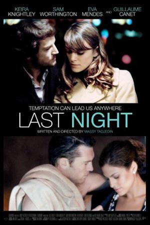 "Poster art for ""Last Night."""