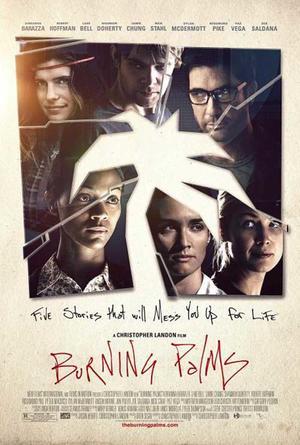 """Poster art for """"Burning Palms"""""""