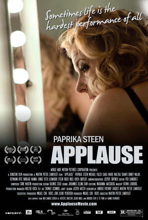 """Poster art for """"Applause."""""""