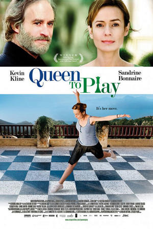 "Poster art for ""Queen to Play."""