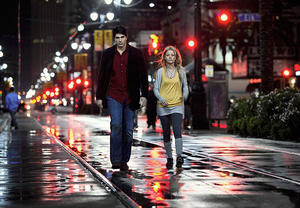"Brandon Routh as Dylan Dog and Anita Briem as Elizabeth Ryan in ""Dylan Dog: Dead of Night."""