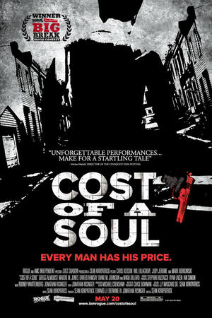 """Poster art for """"Cost of a Soul."""""""