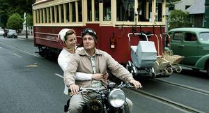 """Elise Schaap as Marjorie and Mattijn Hartemink as Hans in """"Bride Flight."""""""