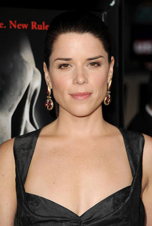 "Neve Campbell at the California premiere of ""Scream 4."""