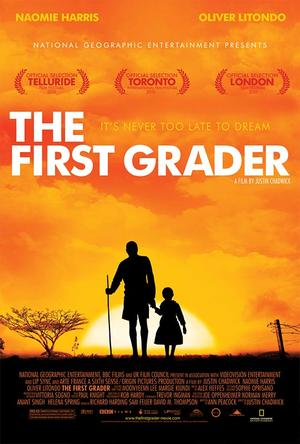 """Poster art for """"The First Grader."""""""