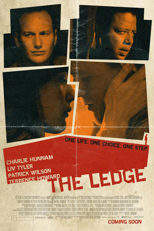 "Poster art for ""The Ledge."""