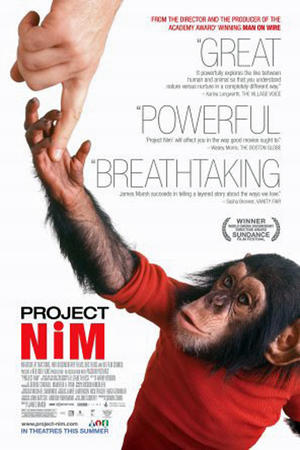 """Poster art for """"Project Nim."""""""