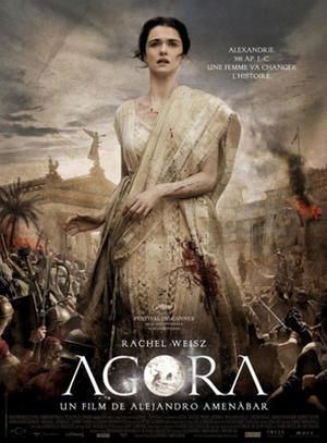 "Poster art for ""Agora."""