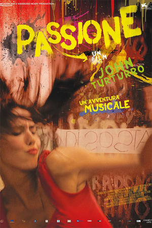 """Poster art for """"Passione."""""""