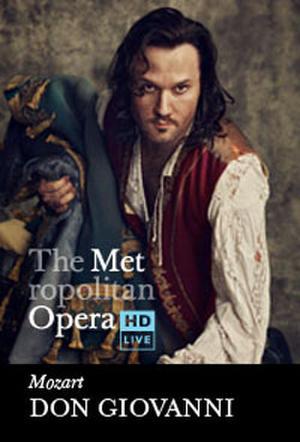 "Poster art for ""The Metropolitan Opera: Don Giovanni."""