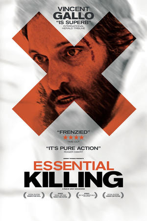 "Poster art for ""Essential Killing."""