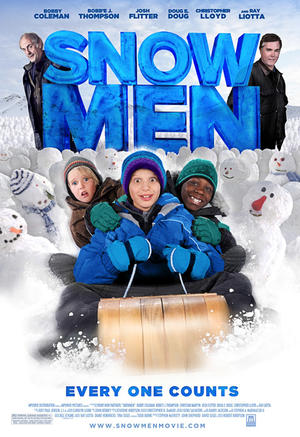 """Poster art for """"Snowmen."""""""