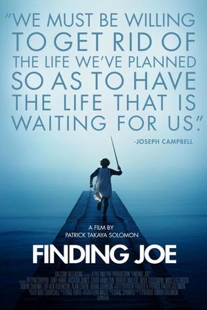 """Poster art for """"Finding Joe."""""""