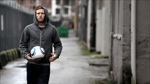 """A scene from """"Rise and Shine: The Jay DeMerit Story."""""""