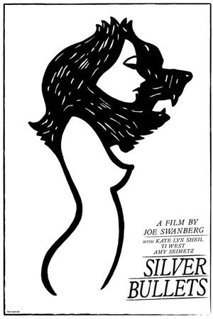 "Poster art for ""Silver Bullets."""