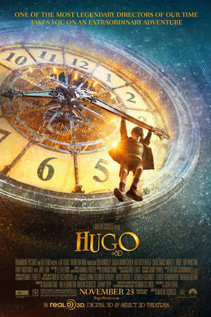 """Poster art for """"Hugo."""""""