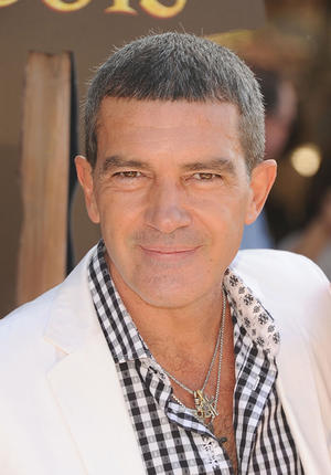 "Antonio Banderas at the California premiere of ""Puss in Boots."""