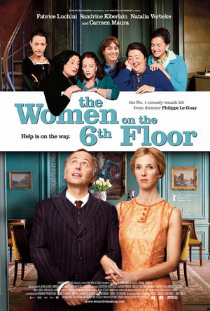 "Poster art for ""The Women on the 6th Floor."""