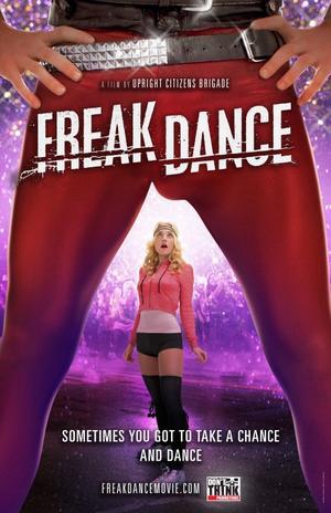 """Poster art for """"Freak Dance."""""""