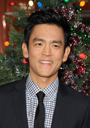 "John Cho at the California premiere of ""A Very Harold & Kumar Christmas."""