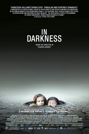 "Poster art for ""In Darkness."""