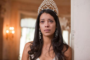 "Stephanie Sigman as Laura in ""Miss Bala."""