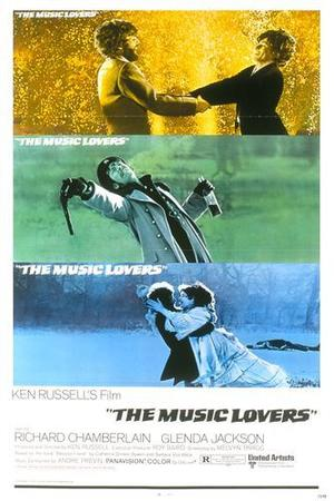 """Poster art for """"The Music Lovers."""""""
