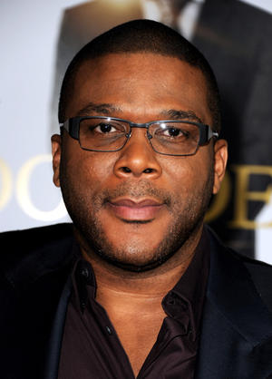 "Tyler Perry at the California premiere of ""Tyler Perry's Good Deeds."""