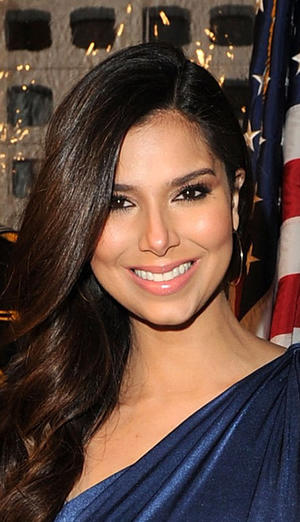 "Roselyn Sanchez at the California premiere of ""Act Of Valor."""