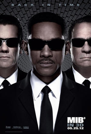 "Poster art for ""Men in Black III."""