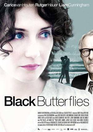 "Poster art for ""Black Butterflies."""