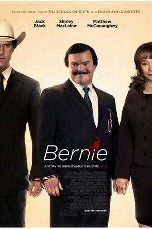 """Poster art for """"Bernie."""""""