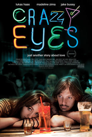 "Poster art for ""Crazy Eyes."""