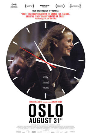 """Poster art for """"Oslo, August 31."""""""