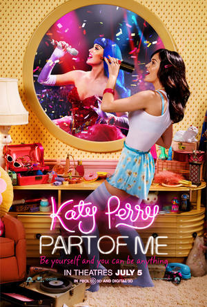 """Poster art for """"Katy Perry: Part of Me 3D."""""""