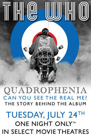 """Poster art for """"The Who - Quadrophenia: The Complete Story."""""""