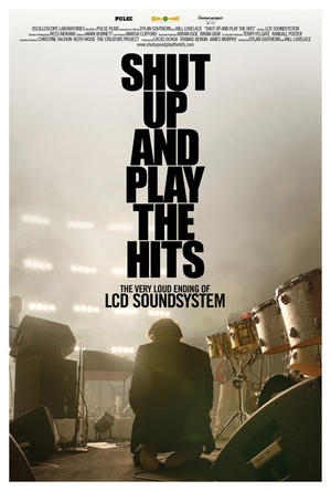 """Poster art for """"Shut Up and Play the Hits."""""""