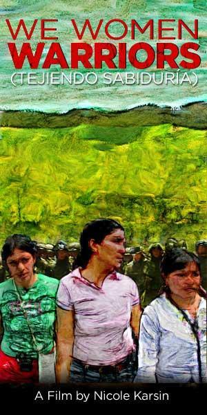 "Poster art for ""We Women Warriors."""