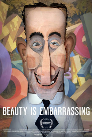 """Poster art for """"Beauty Is Embarrassing."""""""